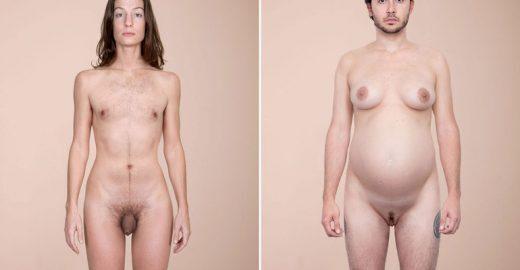 Artista mistura corpos de homens e mulheres para questionar sexualidade