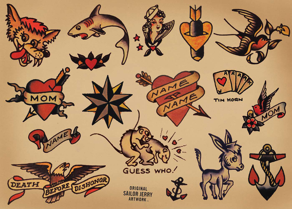 American Traditional Tattoo Wallpaper