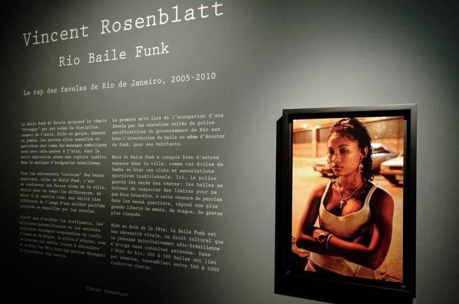 Exposiçao Rio Baile Funk na Maison Européenne de La Photographie em Paris, 2011