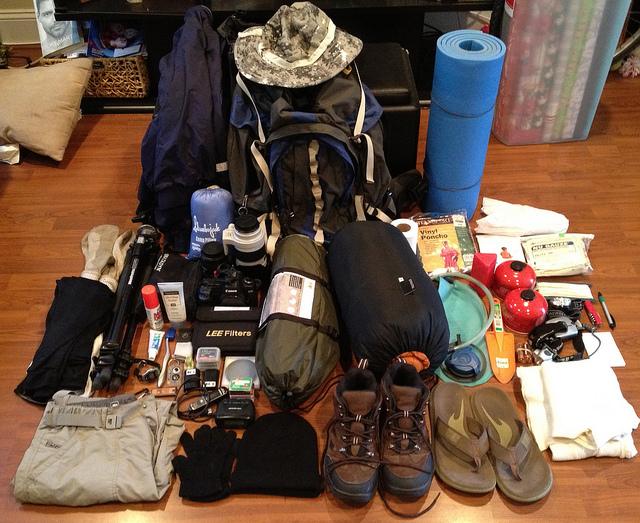 10 dicas de como organizar a mochila de viagem