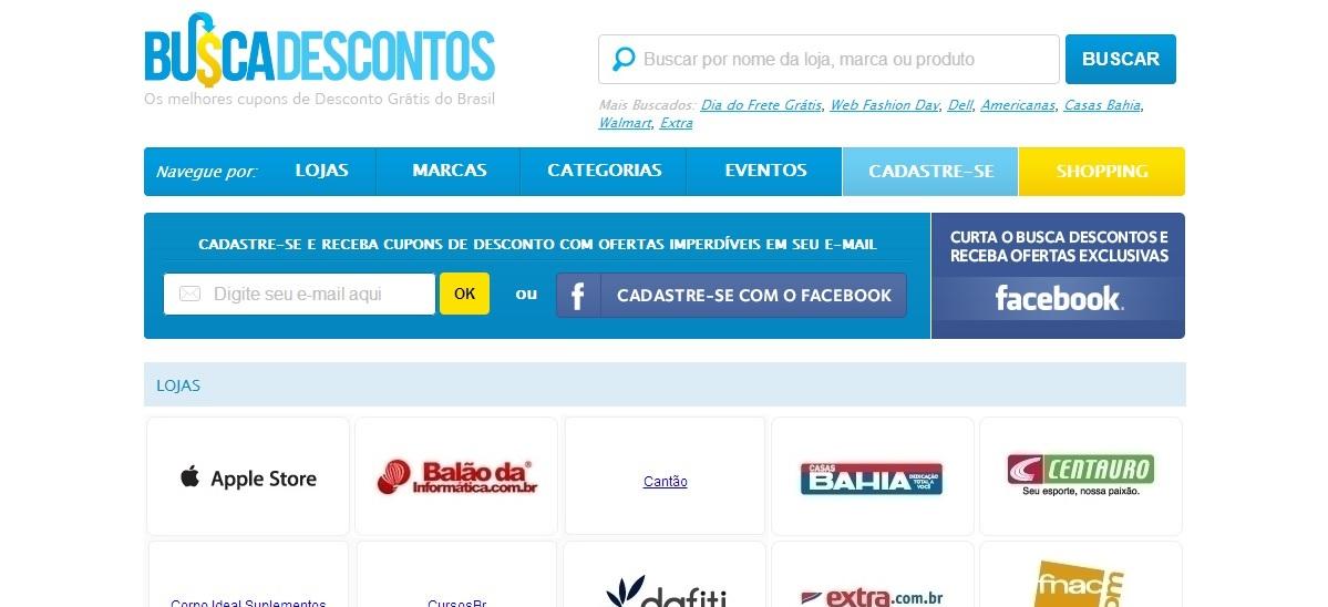 83e8f67267508 Site reúne descontos e promoções em todo Brasil
