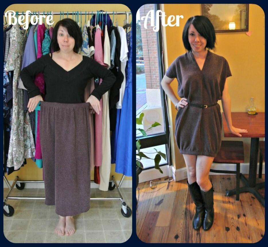 94167014d ... Jillian demonstrou suas incríveis habilidades de costura e criatividade  e encontrou maneiras inusitadas de transformar roupas velhas e  inutilizáveis em ...