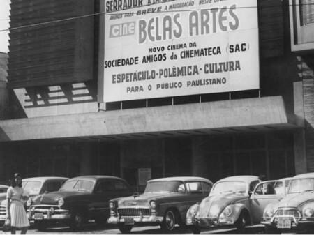 Cine Belas Artes - divulgação - PreservaSp - Pinterest