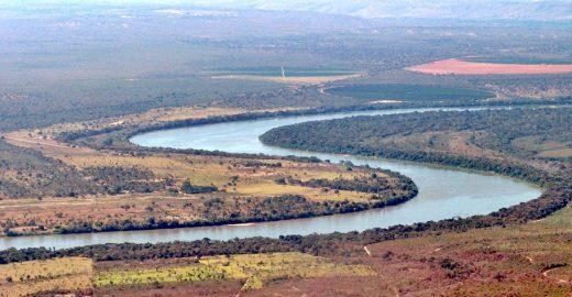 Nascente do rio São Francisco seca em Minas Gerais