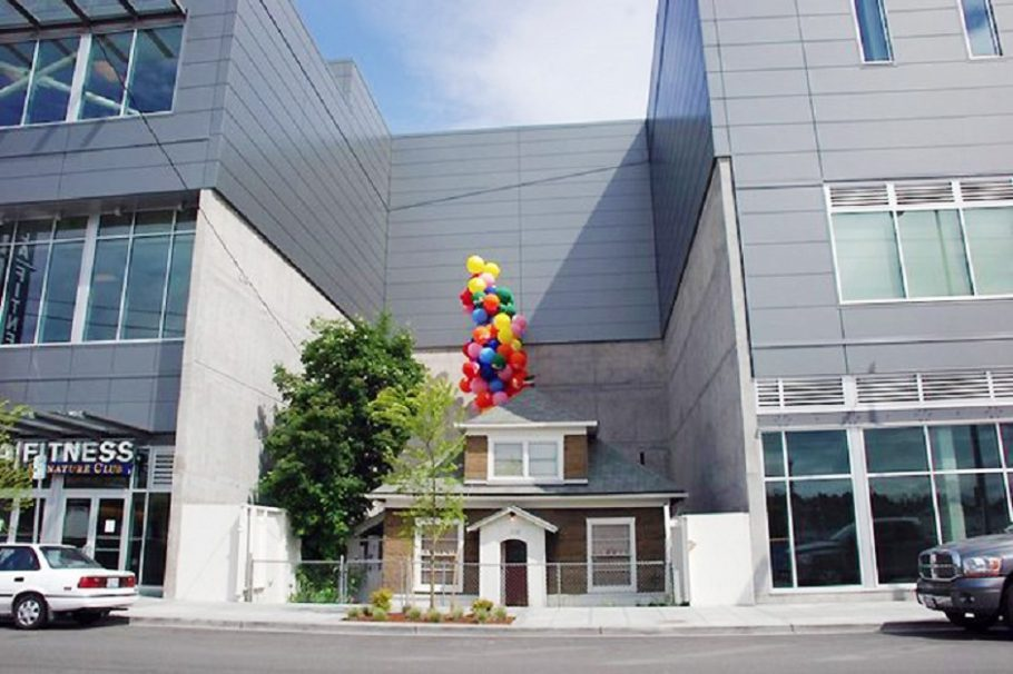 A casa de Edith Macefield (crédito: reprodução arquitetura sustentável)