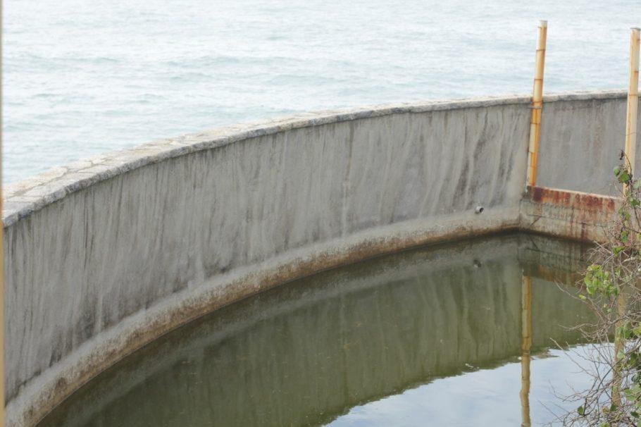 Açude vai ser transformado em criadouro de peixes. Uma fonte de proteína e renda para a ilha