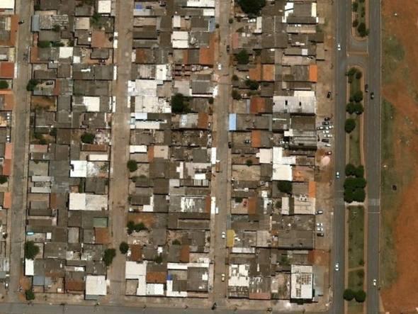 Distrito Feredal - Ceilândia (crédito: reprodução Google Street View/Exame)