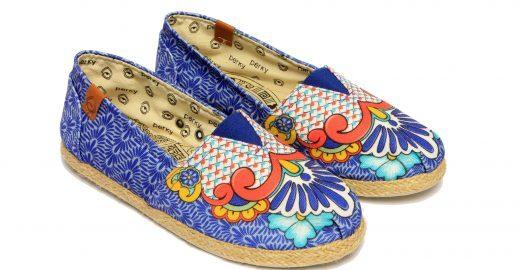 Casal de argentino e brasileira criou marca de calçados confortáveis e estampados