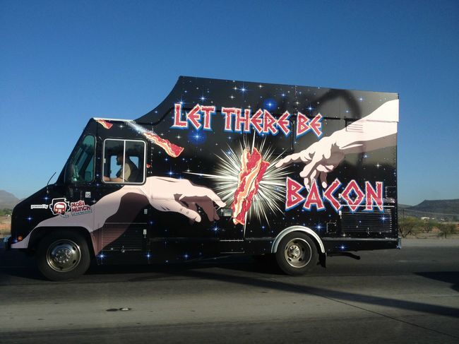 Em Cleveland (EUA), o 'Let There Be Bacon' pode ser considerado o paraíso dos amantes do bacon...