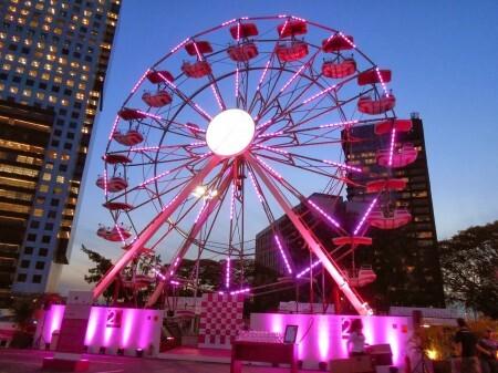 Roda-gigante - Outubro Rosa (divulgação)