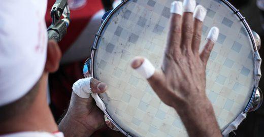 Reunião de rodas paulistanas para celebrar o Dia Nacional do Samba