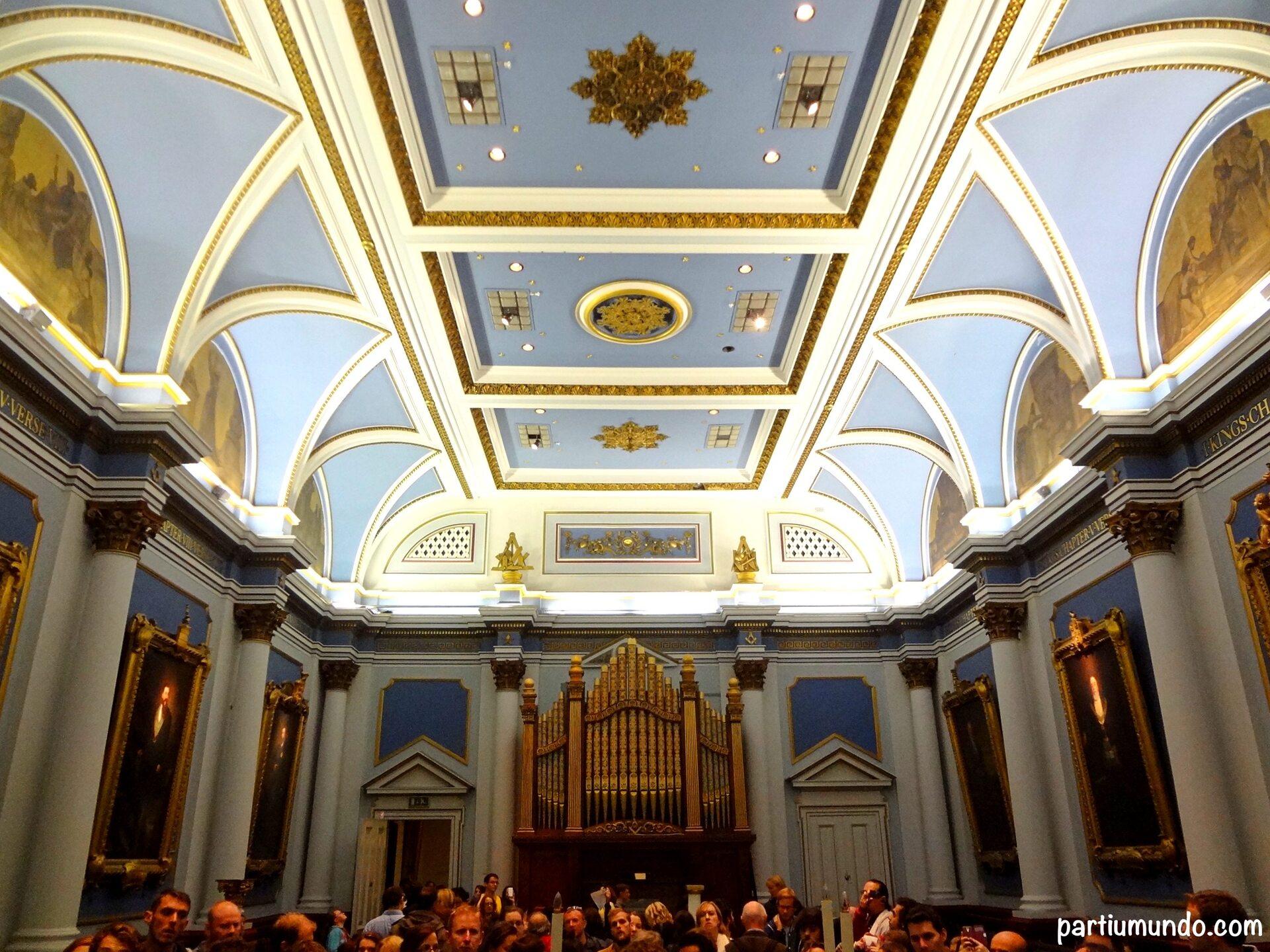 Freemason's Hall,  a grande loja maçom da Irlanda