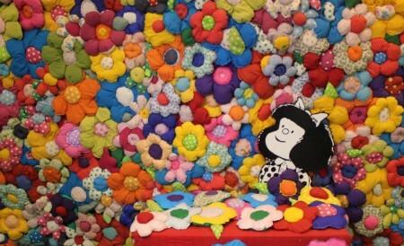 """""""O Mundo Segundo Mafalda"""" (foto: Gabriel Nogueira)"""