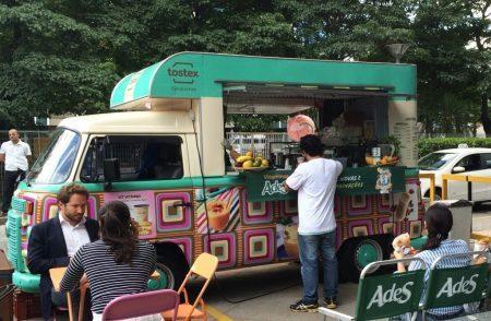 Food truck AdeS e Tostex - divulgação