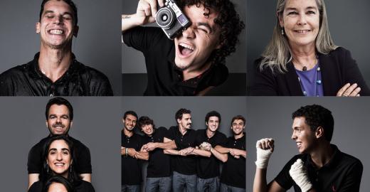 Marca de roupas usa empreendedores sociais como modelos