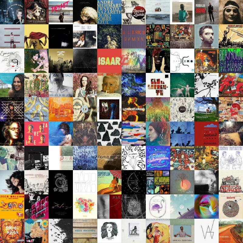 Site destaca os 100 melhores álbuns da música brasileira de 2014