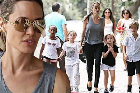 Fila de espera para ser adotado(a) pela Angelina Jolie