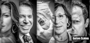 Simon Helberg ( da série Big Bang Theory), Gisele Bundchen, Silvio Santos, Adriane Galisteu, Laerte, Vik Muniz e Cacique Raoni.