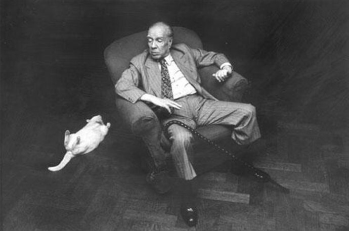 Jorge Luis Borges/ reprodução