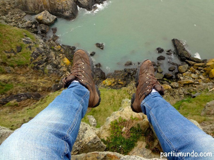 Uma trilha de tirar o fôlego em Howth, na Irlanda