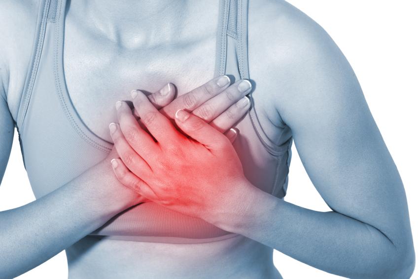 dor no peito por doença