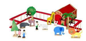 A Tok & Stok estimula as crianças a gostarem de zoológicos (Foto: Tok & Stok)