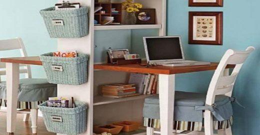 Soluções criativas para organizar o escritório