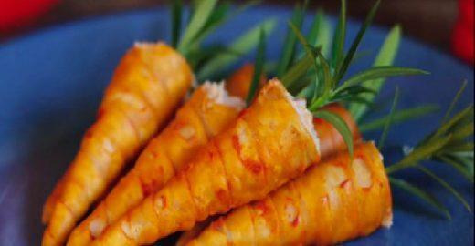 Aprenda a fazer cenourinha surpresa para a Páscoa