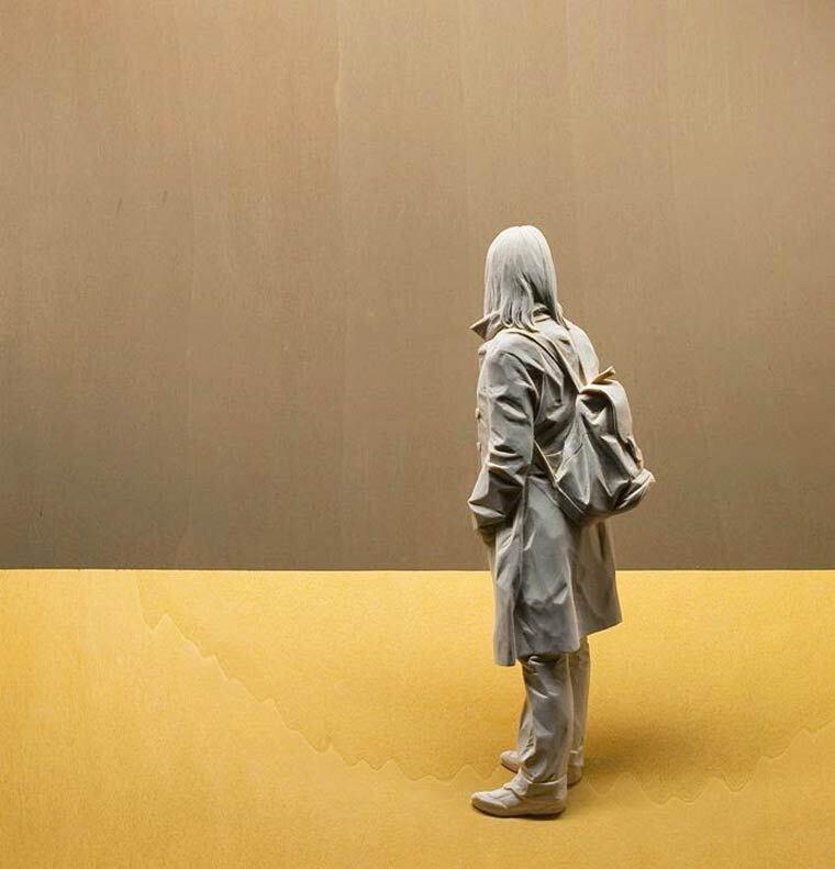 As impressionantes e realistas esculturas de madeira de Peter Demetz