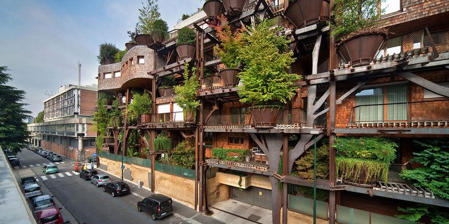 Prédio com 150 árvores do arquiteto Luciano Pia