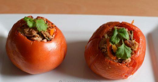 Aprenda a fazer Tomates Recheados de uma maneira diferente
