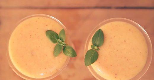 Aprenda a fazer um saboroso drink de pêssego