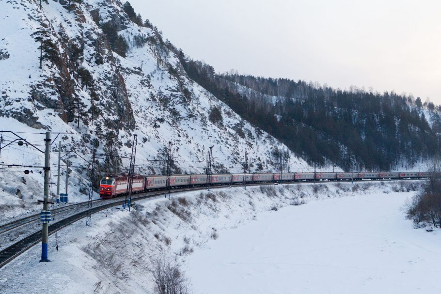 Transiberiana: oito fusos e mais de 160 horas de viagem