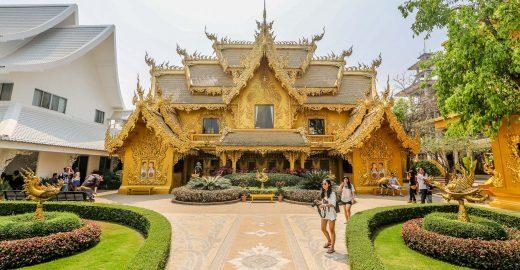 Conheça um dos templos budistas mais belos da Tailândia