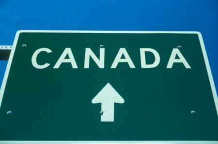 placa do canadá