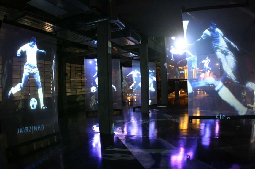 Museu do Futebol - 419.363 visitantes