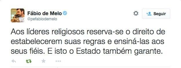 Padre Fábio De Melo Dá Sua Opinião Sobre O Casamento Gay
