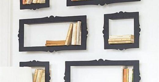 Faça você mesmo: prateleiras para quartos criativos