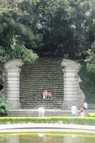 Escadarias do Jardim Botânico - Foto: Patrícia Ribeiro/ Passeios Baratos SP
