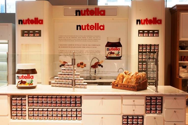Sabia que São Paulo tem o primeiro Nutella Bar? Sim, podem comemorar!