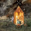 Remedios Varo_Roulotte_1955_oil on masonite_78X60cm_Collection of The Museum of Modern Art of México_© Varo, Remédios - AUTVIS, Brasil, 2015