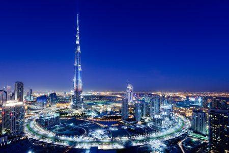 Dubai e o Burj Khalifa (prédio mais alto) | foto: alldubai.ae