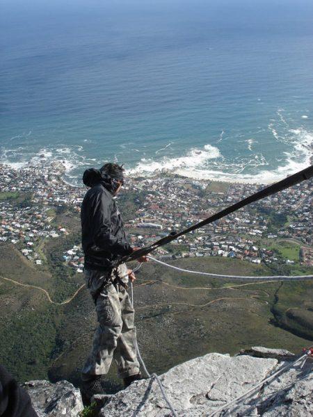 Rapel na Table Mountain – Cape Town