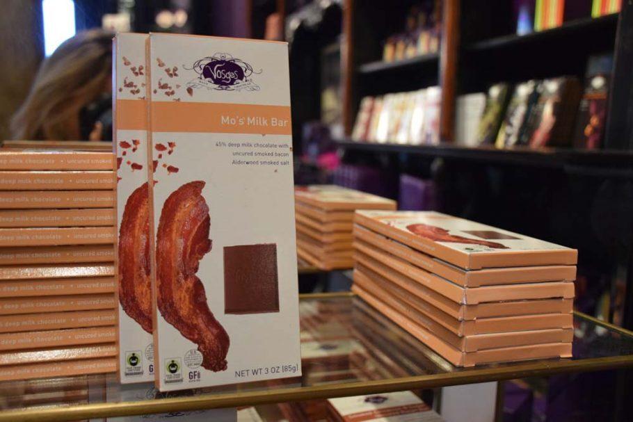 Chocolate com bacon!