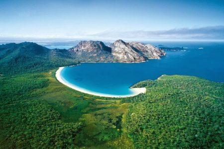 Praia Wineglass Bay