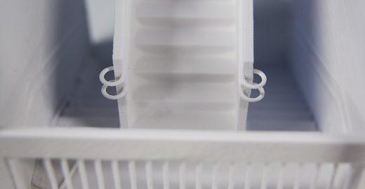 Cientistas trabalham em casa impressa em 3D feita de celulose