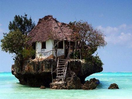 Rock Restaurant, Zanzibar