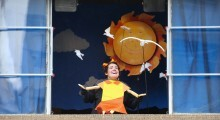 Espetáculo 'Minhoca na Cabeça'. Foto: Divulgação
