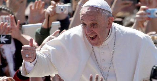 Não é piada: Papa Francisco vai lançar disco de rock