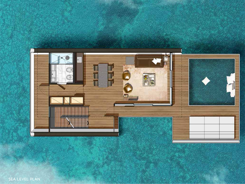 Well-known Dubai terá uma vila com casas flutuantes; veja fotos LV56